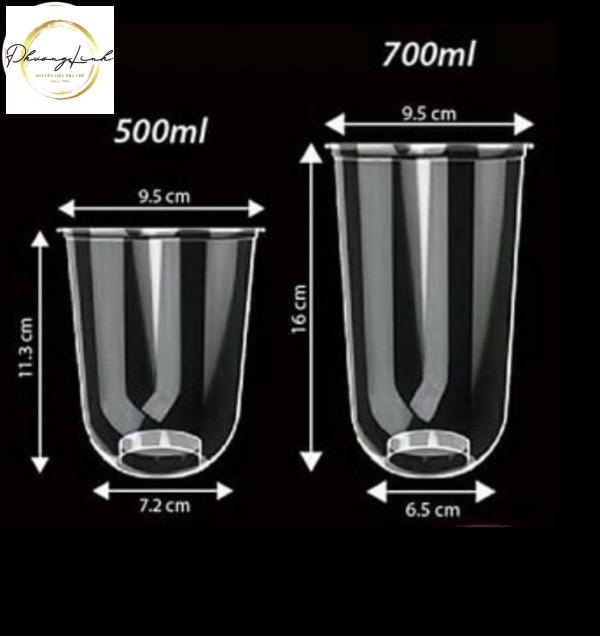 LY ĐÁY CẦU 500 ML/ THÙNG (1000 LY) 1