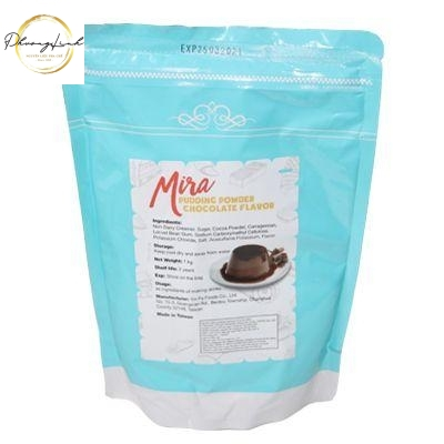BỘT FLAN PUDDING CHOCOLATE MIRA 1